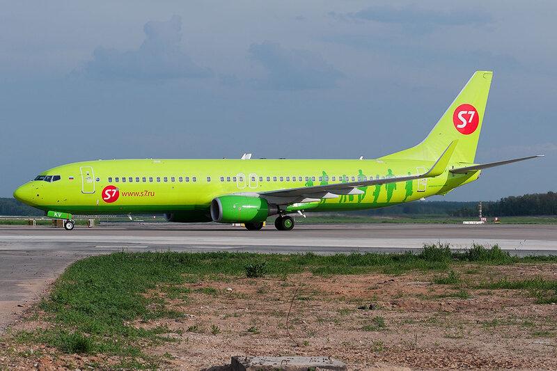 Boeing 737-8ZS (VQ-BKV) Глобус DSC0508