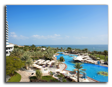ОАЭ. Le Meridien Al Aqah Beach Resort 5*