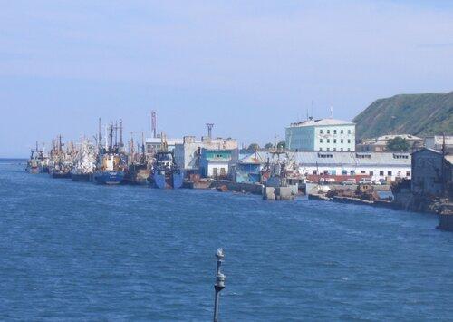 После 9 лет простоя порт Невельск возобновил работу