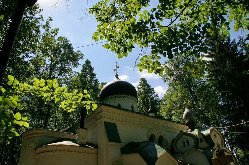 Абрамцево, церковь Спаса Нерукотворного
