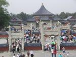 Пекин, толпы у храма неба
