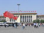 Пекин, праздничные флаги