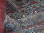 Китай, расписные потолки и балки