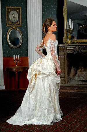 свадебные платья вучетича