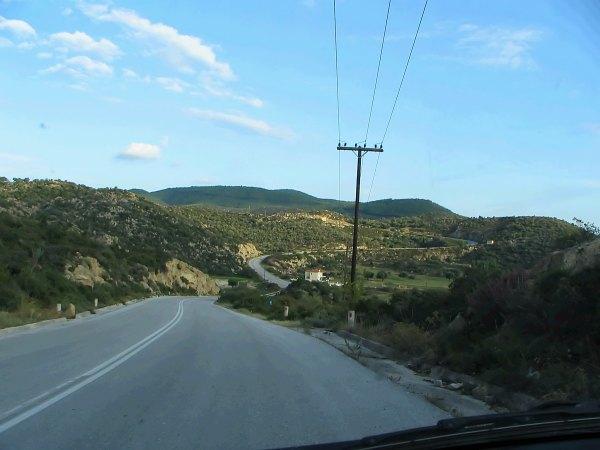 Sithonia road