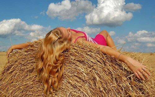 Пышные и здоровые волосы при помощи природных средств