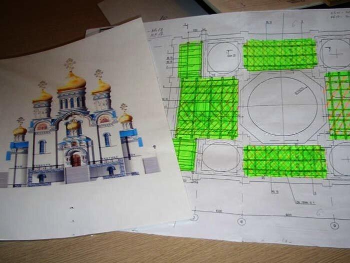 Находка,чертежи Храма