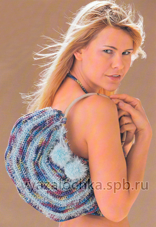 Полукруглая сумка