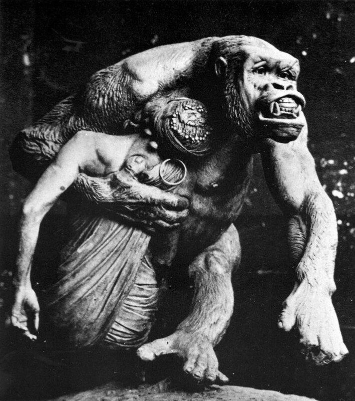 горилла из музея Musee d'Orsay, Париж