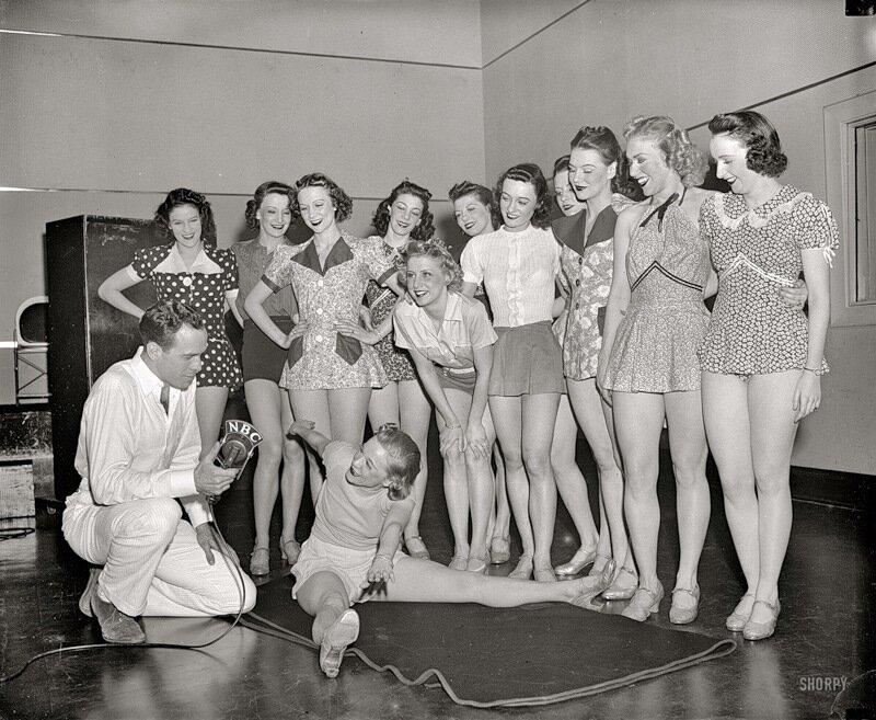 Вашингтон,1938 Улыбка для микрофона