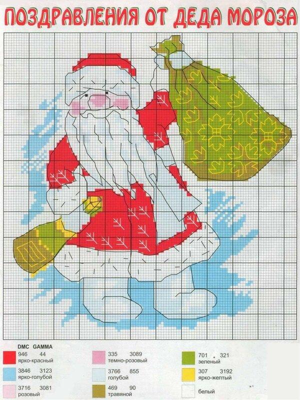 Shema-vyishivki-Ded-Moroz-244x300.jpg Схема вышивки Дед Мороз.