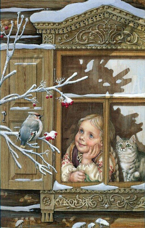 новогодние вируальные открытки