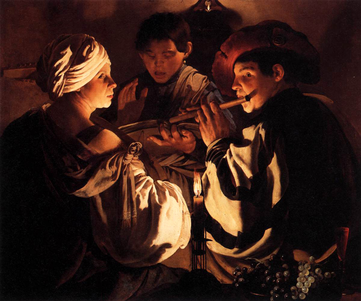 The Concert (1627), by Hendrick ter Brugghen (1588-1629)