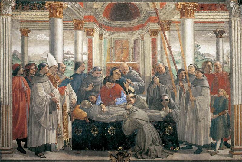 013-погребение св.Франциска (Гирландайо).jpg