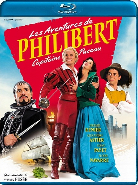 ����������� �������� / Les Aventures de Philibert, capitaine Puceau (2011) DVD5 + BDRip / 720p + HDRip
