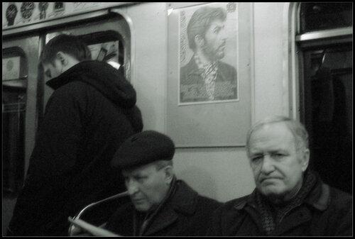 Сосо в метро