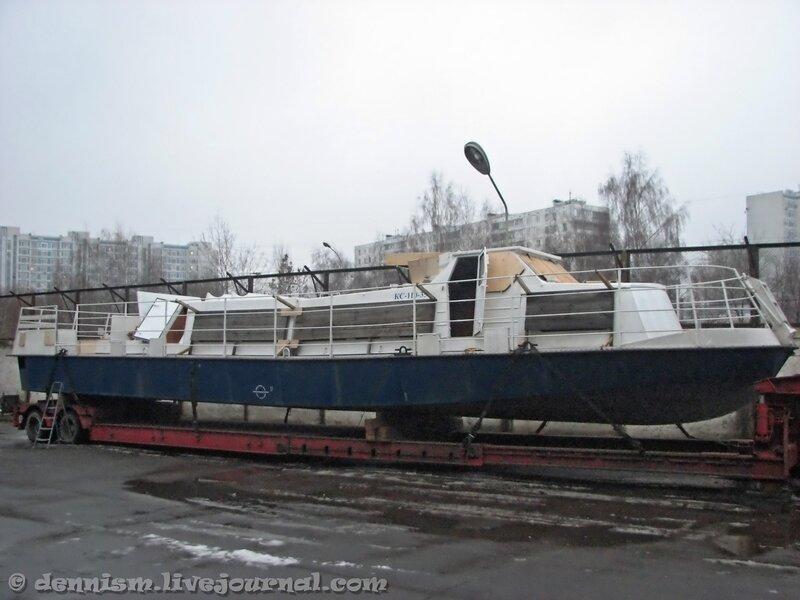 Катер КС-110-35