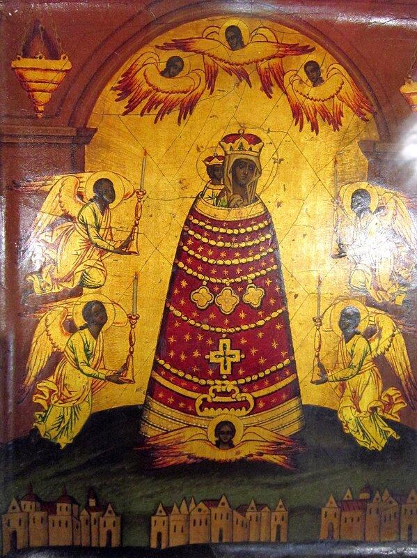 """Икона Божией Матери """"Прибавление ума"""" Вторая половина XIX века."""