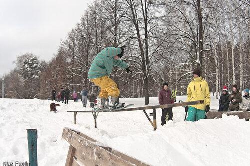 Quiksilver Rail Contest 11.12.2010