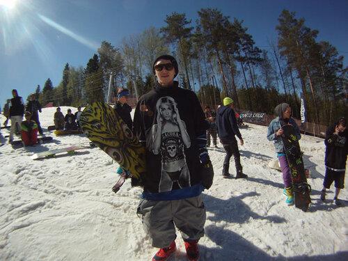 Сквот Day в сноуборд-лагере Вудсток. Фотоотчет