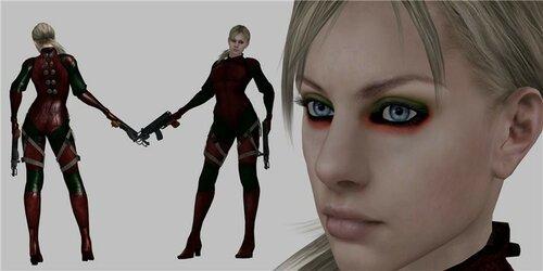 Jill Battlesuit в красно-зелёном =3 0_11ceef_5c4cec32_L