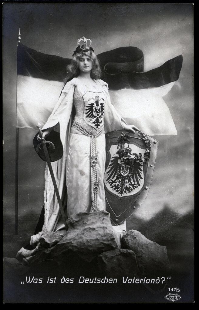 Женский образ в пропаганде Первой мировой