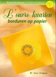 Книга Louvre Kaarten Borduren op Papier