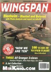 Книга Wingspan June 1991