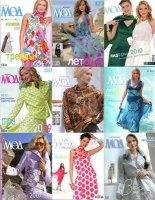 Журнал Журнал мод шитье за 2006-2010 гг.