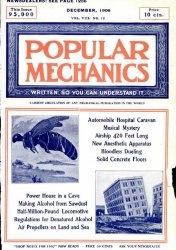 Журнал Popular mechanics №12 1906
