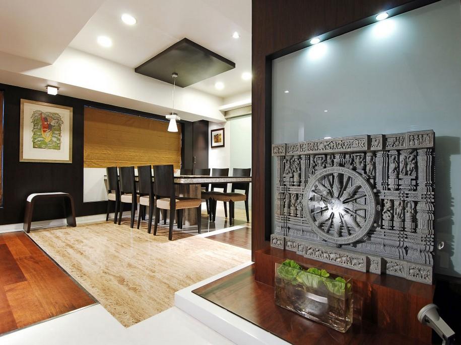 3-этажные апартаменты в центре Мумбаи, Индия