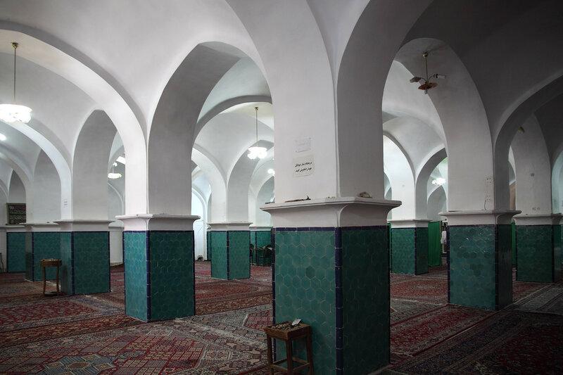 Зимний молельный зал мечети
