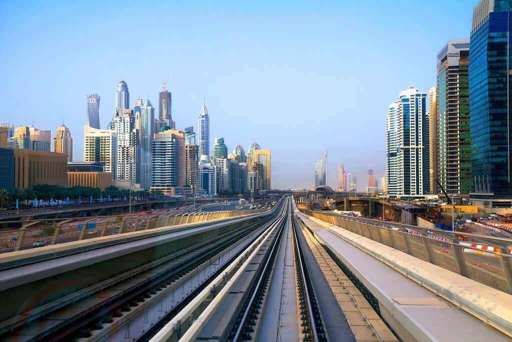 Metrô em Dubai