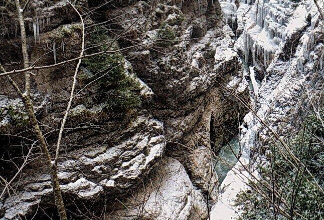 Фотограф Алексей Значков, Гуамское ущелье, 06.02.2010, Кавказ, фотографии моих друзей