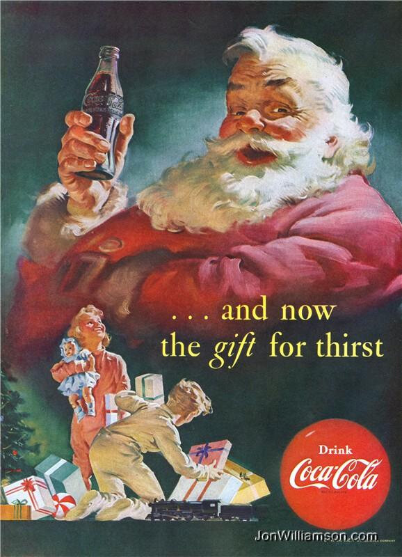 Vintage Holiday Advertising