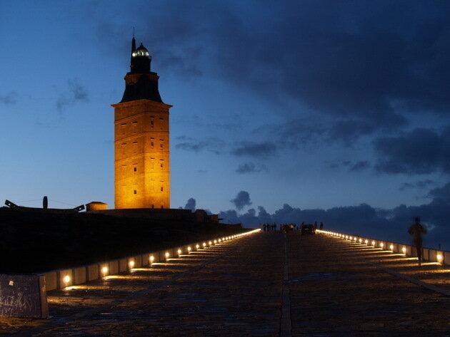 Башня Геркулеса. Испания