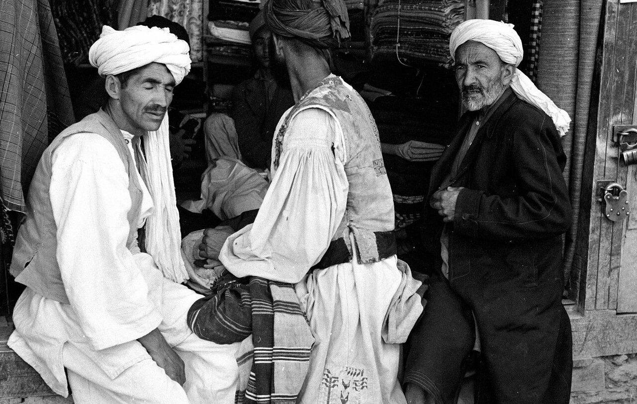 Торговец текстилем