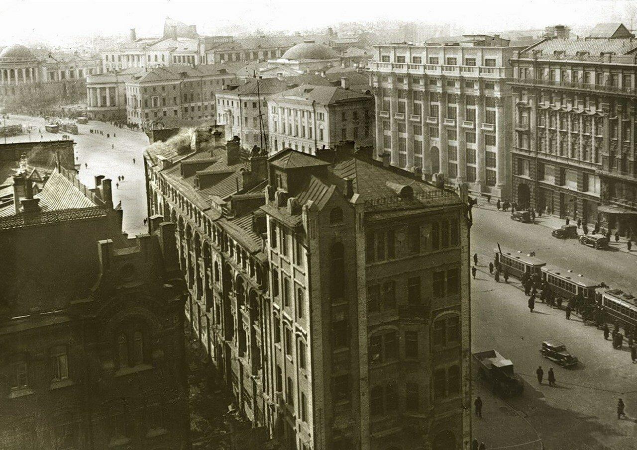1936. Манежная площадь