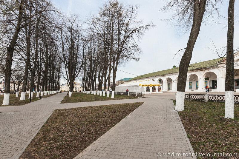 Сусанинский парк. Кострома.