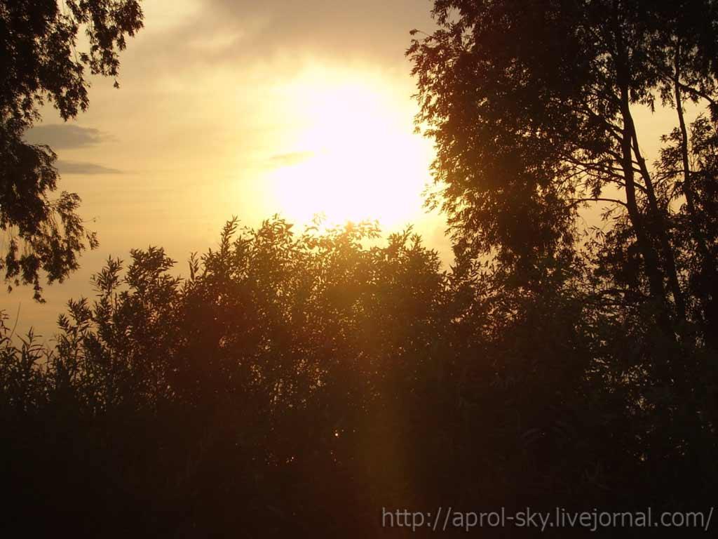 Закат на Ивановском заливе фото №1