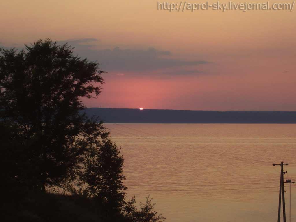 Закат в Рыбацком кадр №3