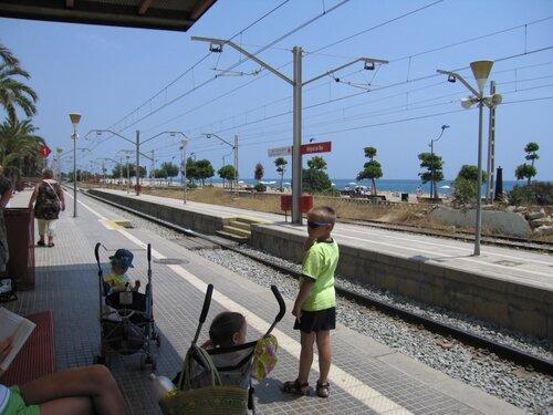 Вокзал renfe в Малграте