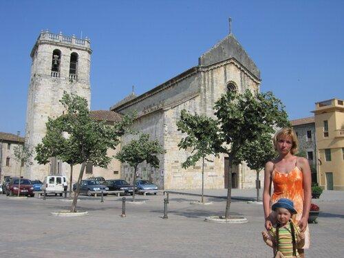 Площадь в Бесалу