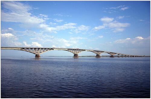 Саратовский мост.