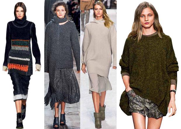 Фавориты нового сезона: пальто, костюм и свитер