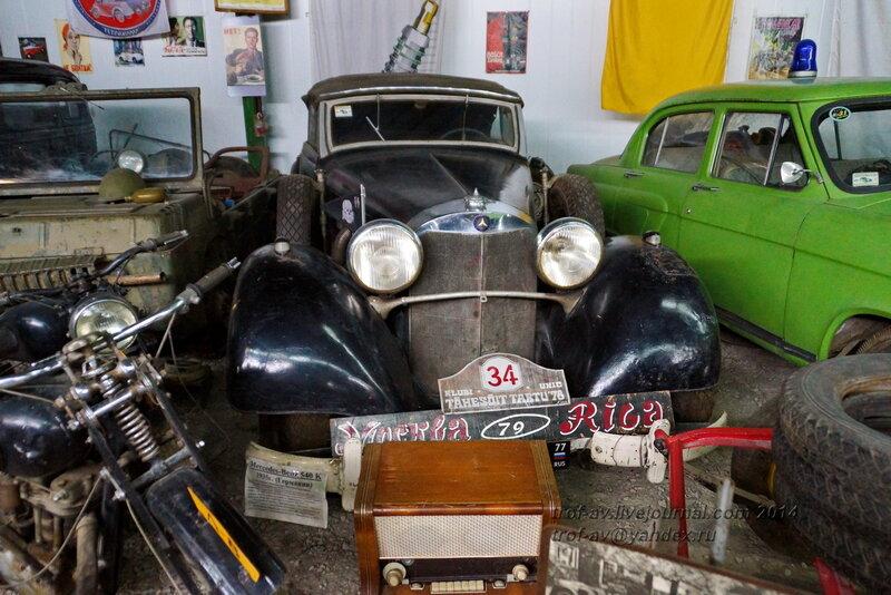 Mersedes-Benz 540K, 1935 г.. Ломаковский музей старинных автомобилей и мотоциклов, Москва