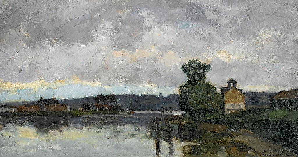 Albert Lebourg - The Seine at Canteleau ain Summer, 1882.jpeg