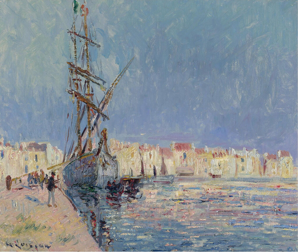 Gustave Loiseau - The Martigues, the Port of Ferriere, 1913.jpeg