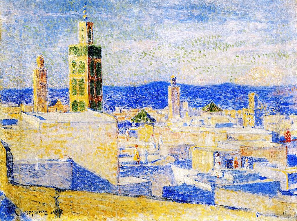 View of Meknes, Morocco, 1888.jpeg
