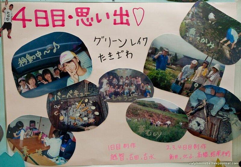 Немного подробностей о японской школе